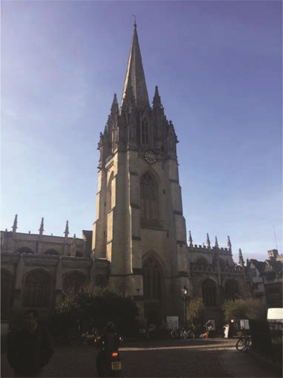 牛津大学校园。